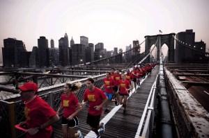 Nike+ Human Race New York launch
